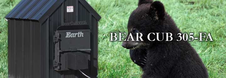 Bear Cub 305 Forced AirIntegrates into your existing HVAC to supply clean heat.