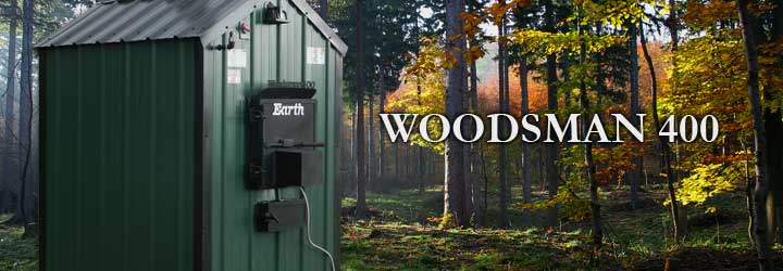 Woodsman 400 SeriesApproximately 275K BTU based on maximum capacity calculated with dry oak wood.